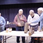 02.2018 Demo group Thom Crothers, Greg Schramek, Tucker Garrison and Brian Johnson