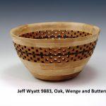 Jeff Wyatt 9883, Oak, Wenge and Butternut