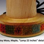 Joy Moss 9758, Maple detail