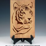 Bruce + Trish Pratt, PIERSON'S TIGER, Cherry,8x12x3x.375 inches