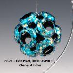 Bruce+Trish Pratt, DODECASPHERE, Cherry, 4 inches