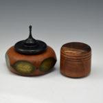 Mike Seltzer - Maple and Cherry Hexagon Box - Maple Jewelry Box