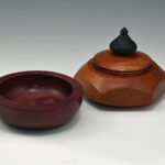 Dawn Lytle - Purple Heart and Maple Bowls