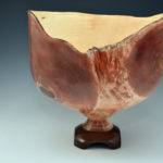 Jim Brandon - Maple and Walnut - Flame Bowl