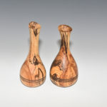 Don Olsen - Spalted Cherry - 7 in. - Pitcher and Vase II and III