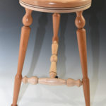 James Duxbury - Cherry and Maple - 15 x 28 in. - Puzzle Stool