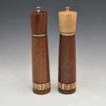 Josef Kislik - Walnut and Maple - Pepper and Salt Mill