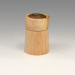 Anne Ogg - Maple and Walnut - Box by Pat Thobe and Lid by Anne Ogg