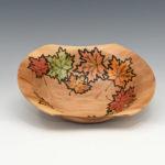 Bruce and Trish Pratt - Bradford Pear - 10 in. x 8 in. x 3 in. - Autumn Leaves