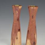 Ken Brady - Cedar - Candle Sticks