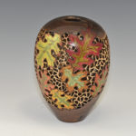 Bruce and Trish Pratt - Walnut - 8 in x 4 in - Autumn Leaves