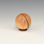 Don Olsen - Maple and Walnut - 3 inch D - Sphere