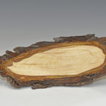 Glenn Schmidt - Black Walnut - 12.5 in x 2 in - Thin Natural Edge