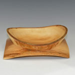 Glenn Schmidt - Sycamore - 9.5 in x 3.5 in - Fly Away - Natural Edge Winged Bowl