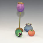 Pat Thobe - Mixed woods - Painted Pods