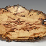 Glenn Schmidt - Maple Burl - 17 in x 3 in - The Dragon 12020