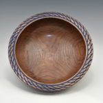 Greg Schramek - Walnut - 14 in x 8 in - Bowl