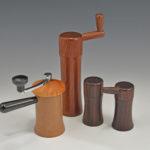 Tucker Garrison - Cocobolo Rosewood Yew - Peppermill and Coffee Mill
