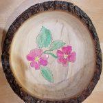 Bruce and Trish Pratt - Cherry bowl w flowers