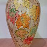 Bruce and Trish Pratt - autumn leaves maple