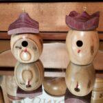 George Daughtry - Dogwood birdhouses