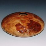 Bill and Tina Collison - 30712 Quilted Ambrosia Maple with exposed burls 12x12x5