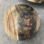 Glenn Schmidt - 3 of 3 - 9 in cored Black Walnut bowl - green wood